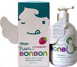 Духи, Парфюмерия, косметика Мягкий детский лосьон для чувствительной кожи с ароматом клубники - Bubble BonBon