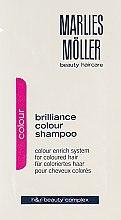 Духи, Парфюмерия, косметика Шампунь для окрашенных волос - Marlies Moller Brilliance Colour Shampoo (пробник)