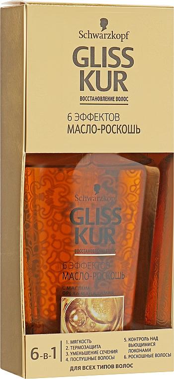 Масло для волос «6 Эффектов» - Gliss Kur Oil