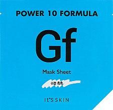 Духи, Парфюмерия, косметика Тканевая маска, увлажняющая - It's Skin Power 10 Formula Mask Sheet GF
