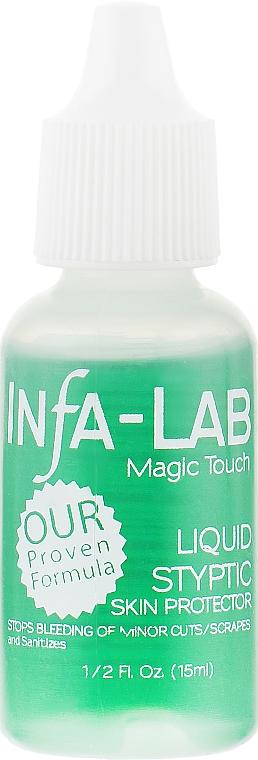 Антисептические капли для обработки мелких царапин и порезов - Infa Lab Liquid Styptic