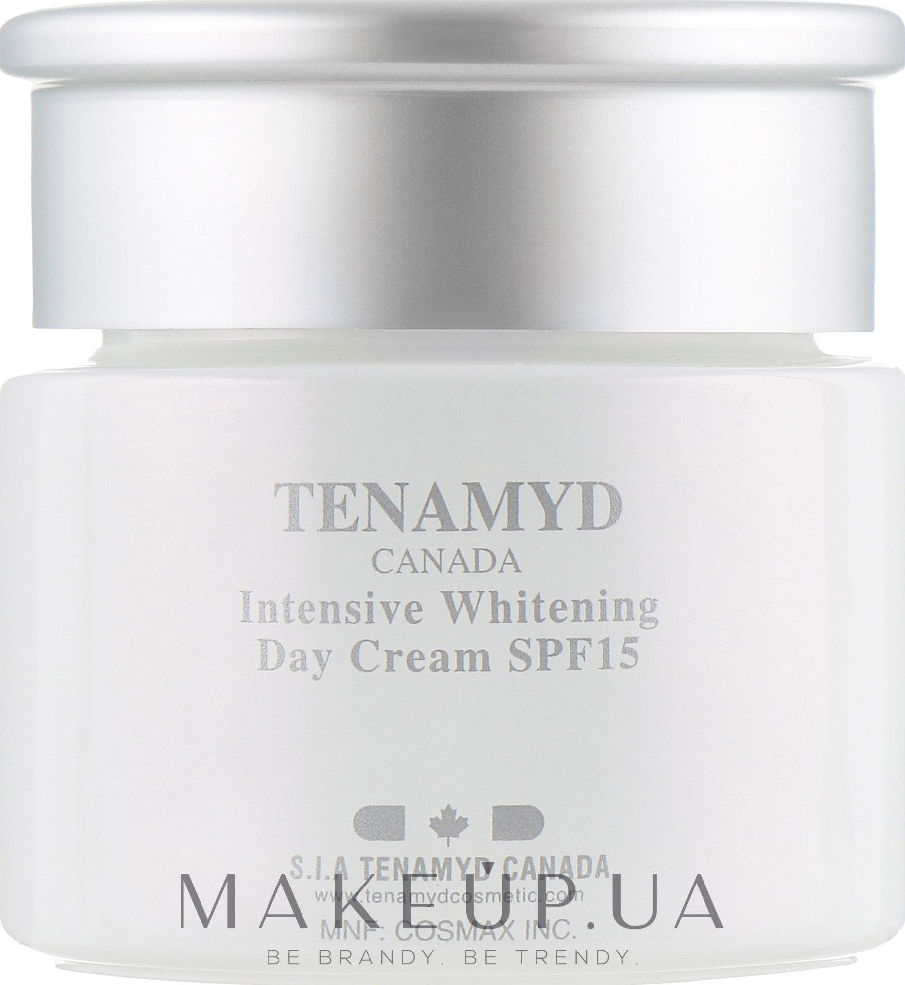 Интенсивно отбеливающий дневной крем с SPF15 для кожи с пигментацией - Tenamyd Canada White Lagoon Intensive Whitening Day Cream SPF15 — фото 60ml