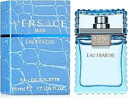 Парфумерія, косметика Versace Man Eau Fraiche - Туалетна вода (міні)