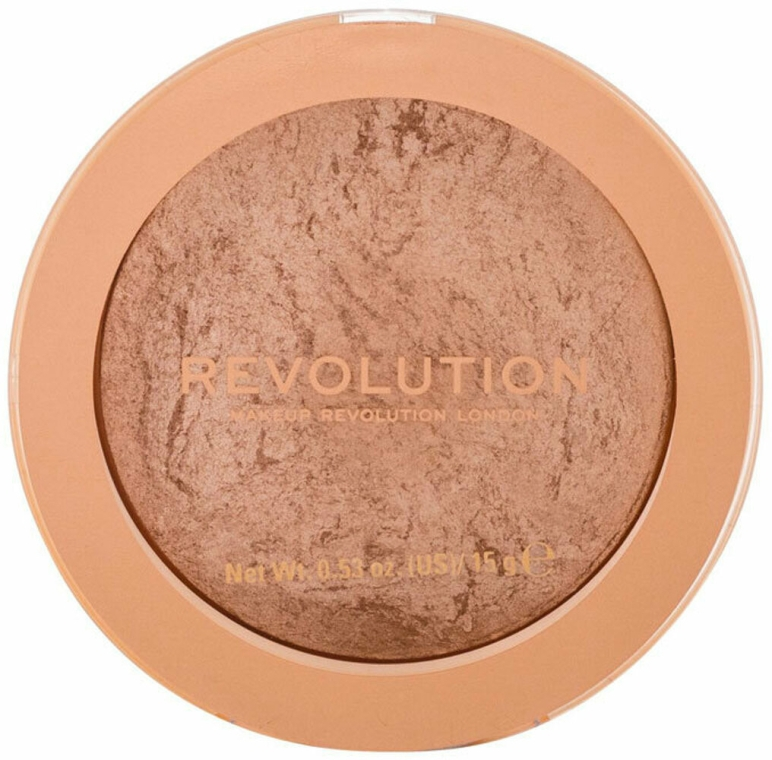 Бронзер для лица - Makeup Revolution Reloaded Powder Bronzer