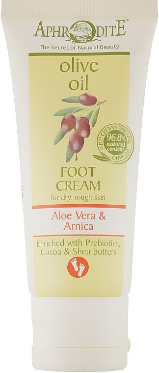 Крем для ног с экстрактом алоэ вера и пребиотики - Aphrodite Aloe Vera Foot Cream