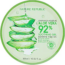 Гель для лица и тела - Nature Republic Soothing & Moisture Aloe Vera 92% Soothing Gel — фото N3