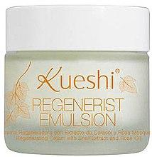 Духи, Парфюмерия, косметика Эмульсия для лица восстанавливающая - Kueshi Regenerist Emulsion Crema Regenr De Caracol