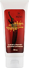 Духи, Парфюмерия, косметика Крем антицеллюлитный с перцем чили, моделирующий - Nuvi Anti-cellulite Chili Pepper Cream