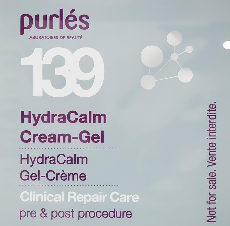 Гидроуспокаивающий крем-гель - Purles Clinical Repair Care 139 HydraCalm Cream-Gel (пробник)