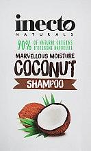 Духи, Парфюмерия, косметика Питательный шампунь для волос с маслом кокоса - Inecto Naturals Coconut Shampoo (пробник)