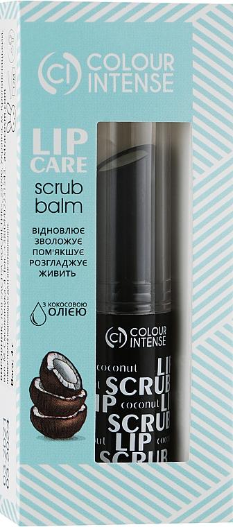 "Скраб для губ восстанавливающий ""Кокос"" - Colour Intense Lip Care Scrub Balm"