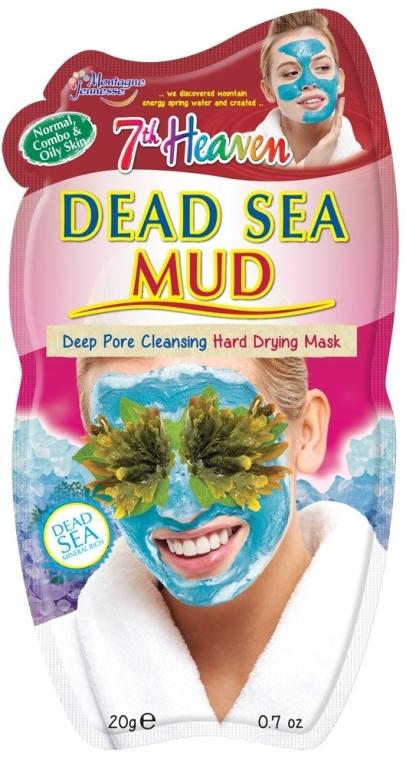 "Грязевая маска для лица ""Минералы Мертвого моря"" - 7th Heaven Dead Sea Mud Mask"
