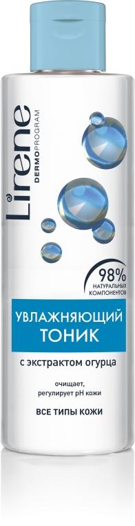 Увлажняющий безалкогольный тоник для лица - Lirene Beauty Care Moisturising Toner(alcohol-free)