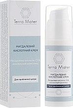 Духи, Парфюмерия, косметика Миндальный кислотный крем для лица - Terra Mater Almond Acid Face Cream
