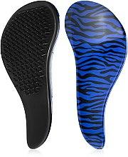Расческа для волос с технологией Тангл Тизер, синяя - Christian — фото N1