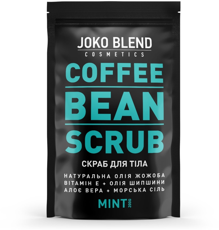 Кофейный скраб - Joko Blend Mint — фото N1