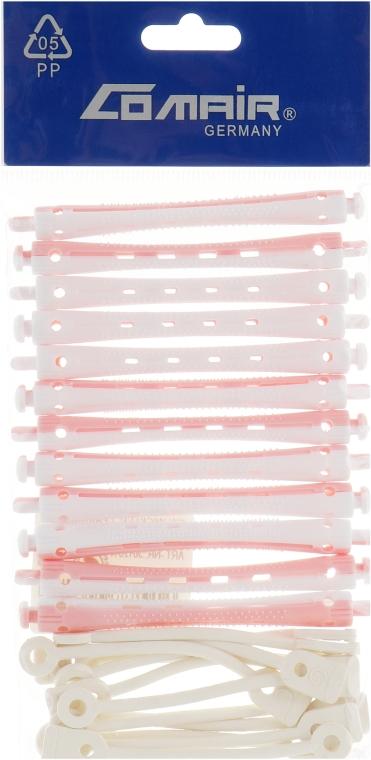 Бигуди для холодной завивки, бело-розовые, d7 - Comair