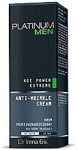 Духи, Парфюмерия, косметика Крем против морщин - Dr. Irena Eris Platinum Men Age Power Extreme Anti-wrinkle Cream