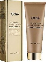 Духи, Парфюмерия, косметика Увлажняющая пенка для упругости кожи - Ottie Gold Resilience Refresh Foam Cleanser