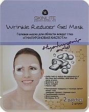 Духи, Парфюмерия, косметика Патчи под глаза против отечности - Skinlite Wrinkle Reducer Gel Mask Hyaluronic Acid