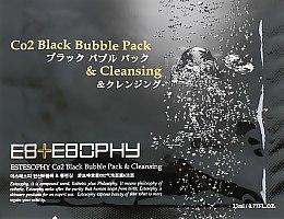 Духи, Парфюмерия, косметика Маска для карбокситерапии лица - Estesophy Co2 Black Bubble Pack & Cleansing