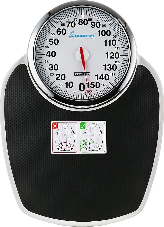 Весы механические 5110, чёрные - Momert 5110