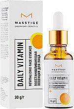 Парфумерія, косметика Відновлювальна есенція для обличчя - Masstige Daily Vitamin Revitalizing Face Essence