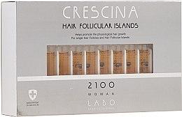 Духи, Парфюмерия, косметика Лосьон для стимуляции роста волос для женщин 2100 - Crescina Hair Follicular Island 2100 Woman