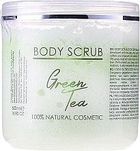 """Духи, Парфюмерия, косметика Скраб для тела """"Зеленый чай"""" - Hristina Cosmetics Sezmar Professional Body Scrub Green Tea"""