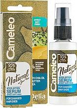 Духи, Парфюмерия, косметика Сыворотка для кончиков волос - Delia Cameleo Natural On Your Hair Aqua Action Serum