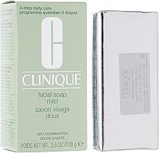 Духи, Парфюмерия, косметика Мыло для сухой и комбинированной кожи - Clinique Liquid Facial Soap Mild