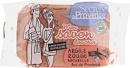Духи, Парфюмерия, косметика Мыло c красной глиной - Secrets De Provence My Soap Bar Wood Of Provence Perfume
