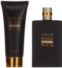 Духи, Парфюмерия, косметика Concept V Design Gold Black Men - Набор (edt/100ml + ash/balm/100ml)