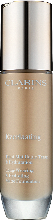 Тональная основа для лица - Clarins Everlasting Long-Wearing And Hydrating Matte Foundation