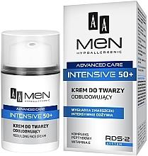 Духи, Парфюмерия, косметика Крем для лица восстанавливающий - AA Men Advanced Care Intensive 50+ Face Cream Rebuilding