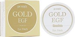 Парфумерія, косметика Гідрогелеві патчі для очей Premium з золотом і EGF - Petitfee Premium Gold & EGF Eye Patch