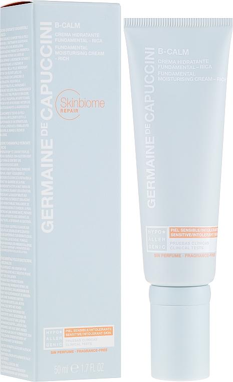 Увлажняющий крем для лица - Germaine de Capuccini B-Calm Fundamental Moisturising Cream Rich