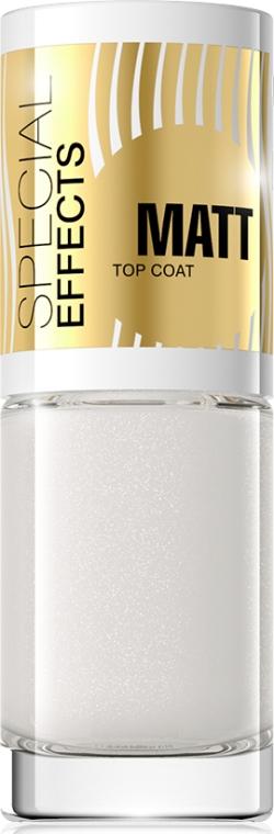 Матовое покрытие для ногтей №154 - Eveline Cosmetics Special Effects Matt Top Coat