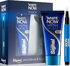 Духи, Парфюмерия, косметика Набор - Signal White Now Toothpaste (t/paste/50ml + bleach/pen/2ml)