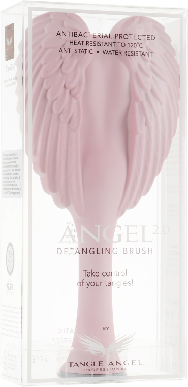 Расческа для волос - Tangle Angel 2.0 Detangling Brush Pink/Grey