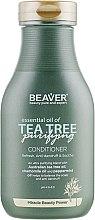 Духи, Парфюмерия, косметика Укрепляющий кондиционер для волос с маслом чайного дерева - Beaver Professional Essential Oil Of Tea Tree Conditioner