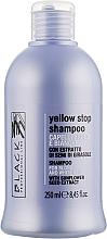 Духи, Парфюмерия, косметика Шампунь против желтизны для седых, осветленных волос - Black Professional Line Yellow Stop Shampoo