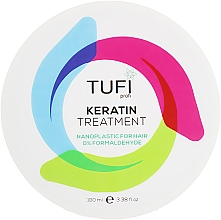 Парфумерія, косметика Кератин-нанопластика (не для блонда) - Tufi Profi Nanoplastic For Hair 0% Formaldehyde