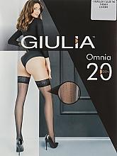 """Духи, Парфюмерия, косметика Чулки """"Omnia 2"""", nero - Giulia"""