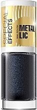 Духи, Парфюмерия, косметика Лак для ногтей - Eveline Cosmetics Special Effects Metallic Nail Polish