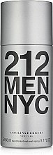 Духи, Парфюмерия, косметика Carolina Herrera 212 MEN NYC - Дезодорант