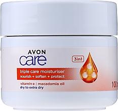 Духи, Парфюмерия, косметика Увлажняющий крем 3 в 1 с витамином Е - Avon Care