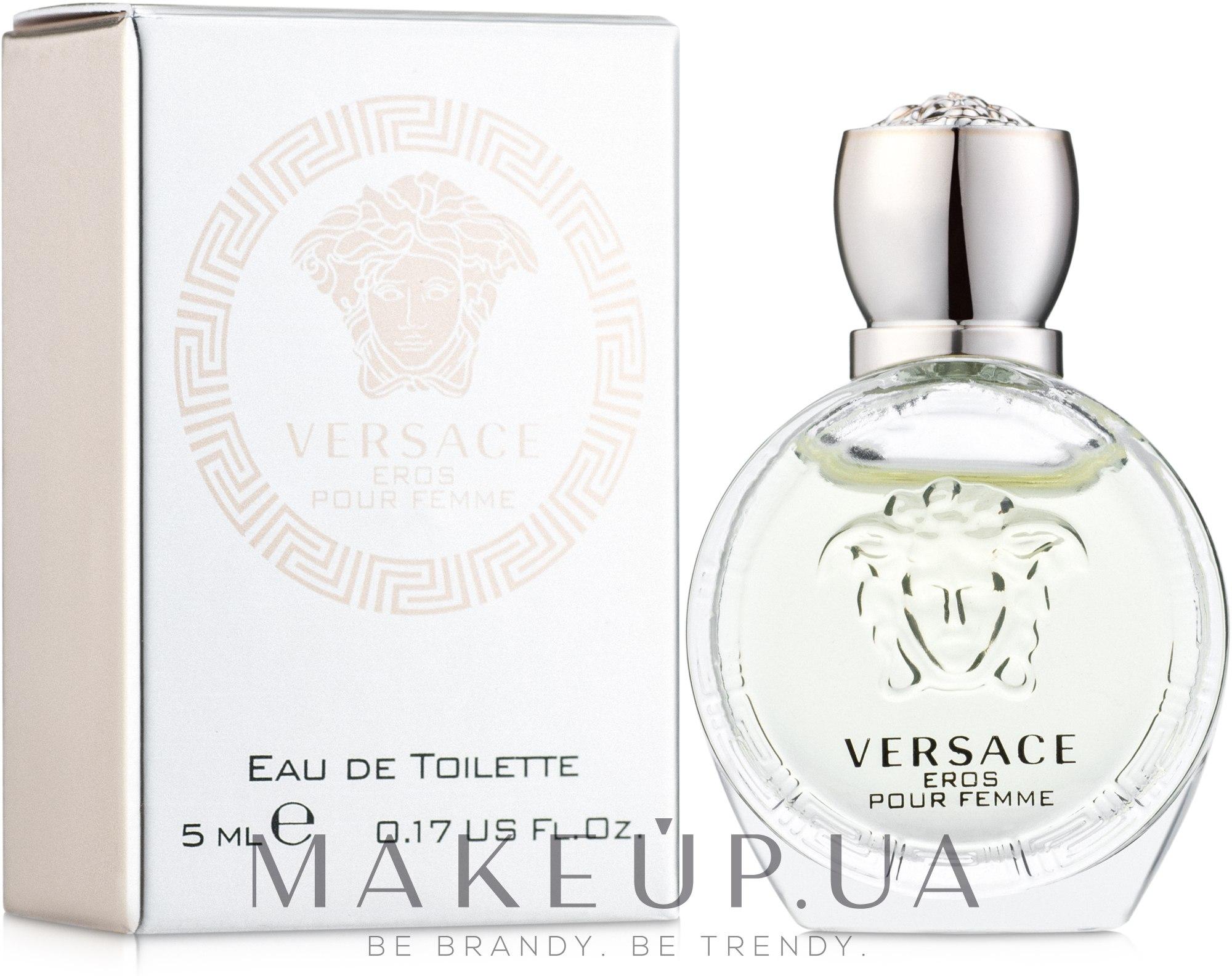 Versace Eros Pour Femme - Туалетная вода (мини) — фото 5ml