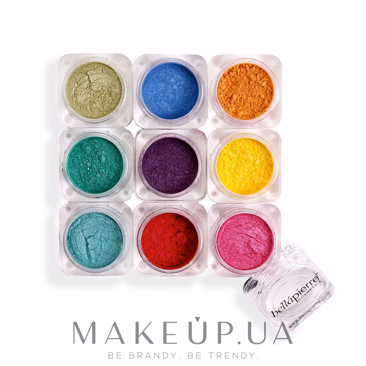 Башня из 9 пигментов - Bellapierre Cosmetics Shimmer 9 Stack — фото Iris