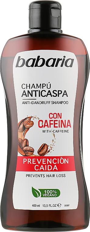 Шампунь для волос против перхоти с кофеином - Babaria Anti-Dandruff Shampoo Caffeine